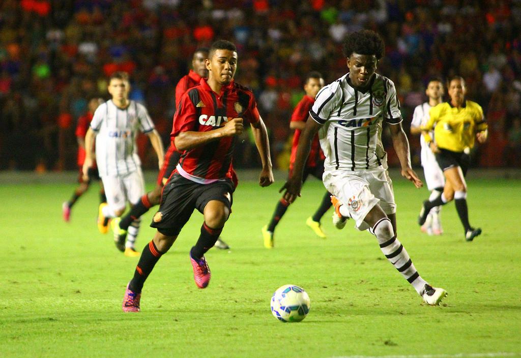 ... Sport e Corinthians disputaram a final da Copa do Brasil Sub-17 b1985147a6bdf