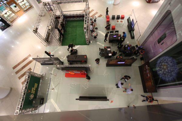 92fd1305329 Espaço destinado ao evento tem 280m² e fica no piso L1 do RioMar (Foto   Anderson Freire Sport Club do Recife)