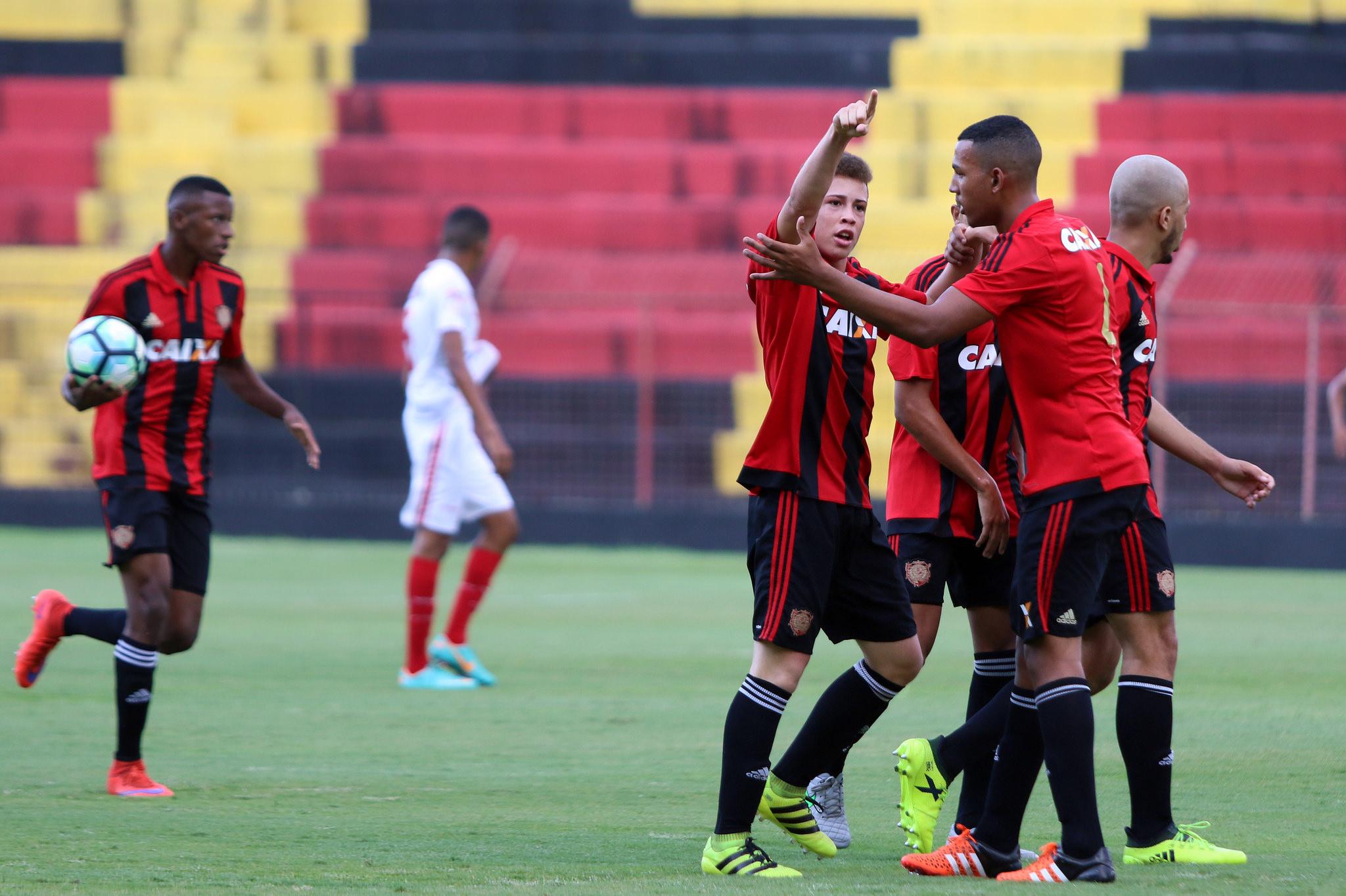 Copa BR Sub-17: Sport encara o Coxa no dia 2 de outubro