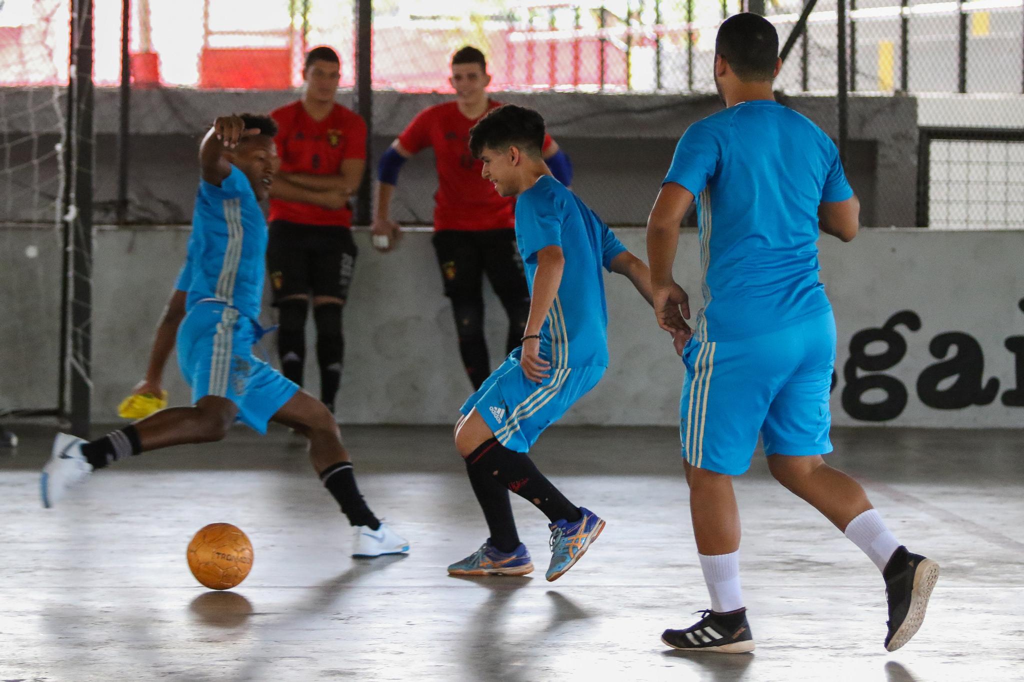 ... Sport conquistou o título ao derrotar o Corinthians na final. (Foto   Anderson Freire Sport Club do Recife) 28c2efe13d2f8