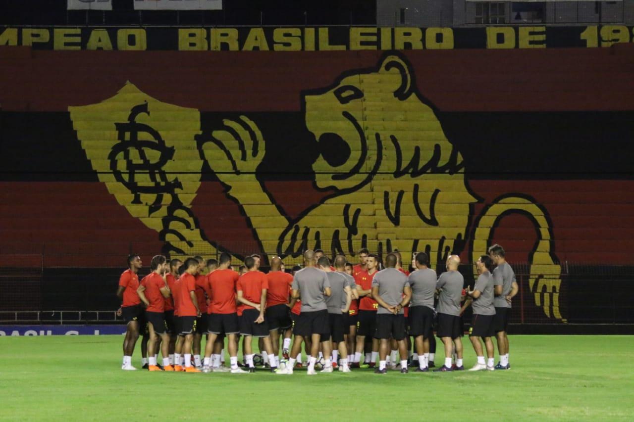 Sport ainda não está definido para encarar Vasco no próximo sábado